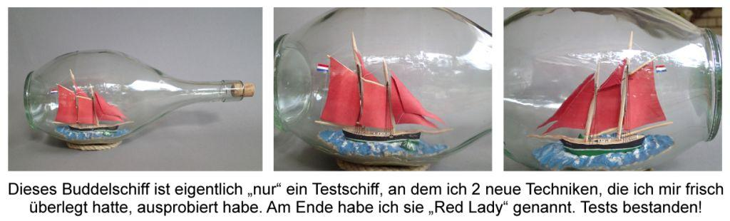 Testschiff RED LADY
